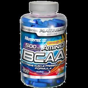 BCAA aminotec Platinum (100 caps) NUTRYTEC