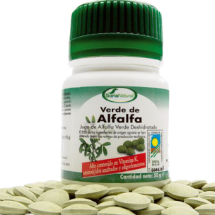 Alfalfa de Verde (100 Comp) Soria Natural