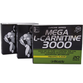 Mega L-Carnitina 3000 (20 Amp) Beverly
