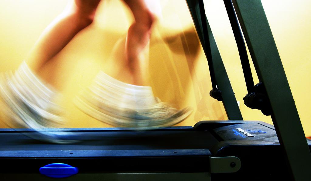 ejercicios de cardio: cinta de correr