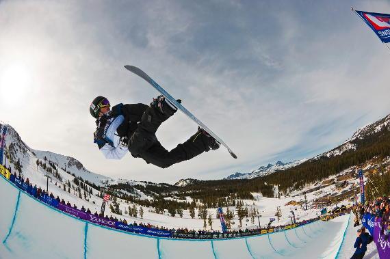 snowboard en navidad