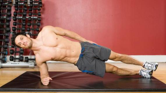 plancha lateral ejercicios abdominales